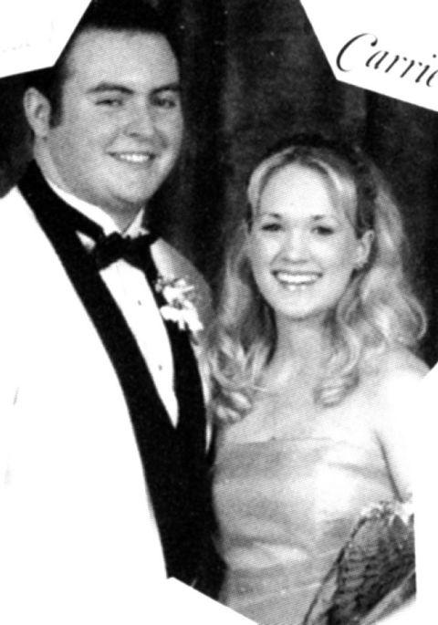 Awkward Celebrity Prom Photos Carrie Underwood