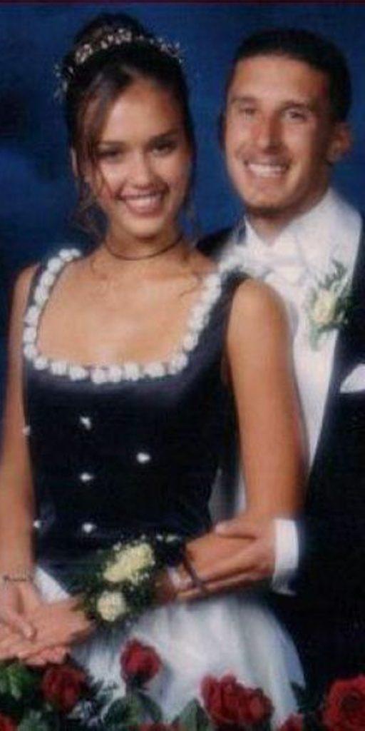 Awkward Celebrity Prom Photos Jessica Alba