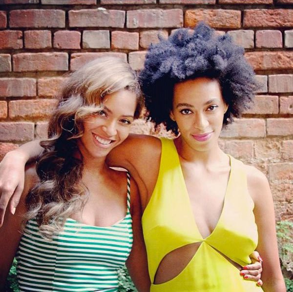 Beyonce and Solange Knowles Sister's Day