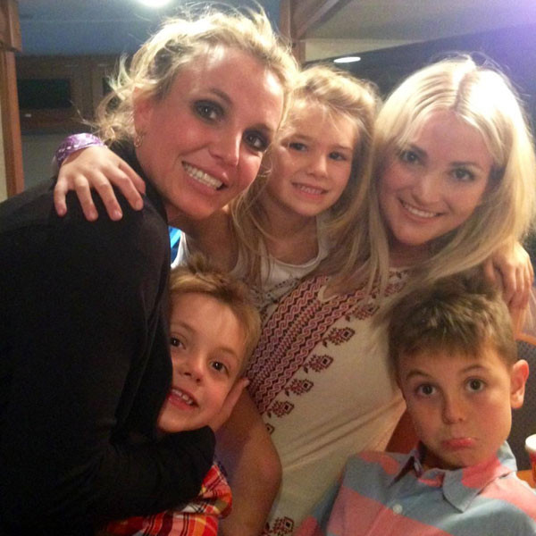 britney and jamie lynn spears sister's day